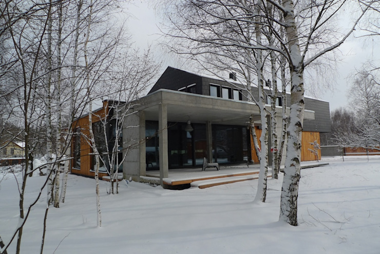 Modern houses by seweryn pracownia Modern