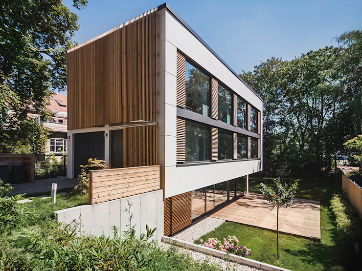 House M 모던스타일 주택 by Peter Ruge Architekten 모던