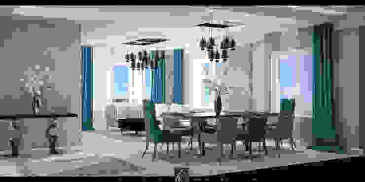 flat design Modern Yemek Odası HePe Design interiors Modern