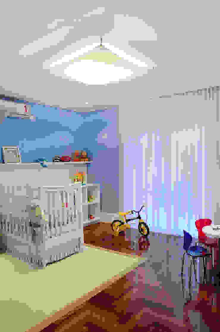 studio VIVADESIGN POR FLAVIA PORTELA ARQUITETURA + INTERIORES Nursery/kid's room Blue