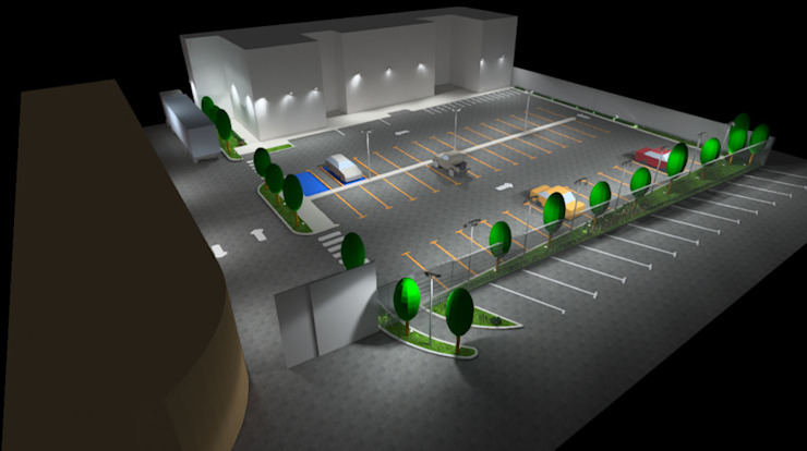 Conceptos Iluminación Exterior de Profesionales Especialistas Moderno