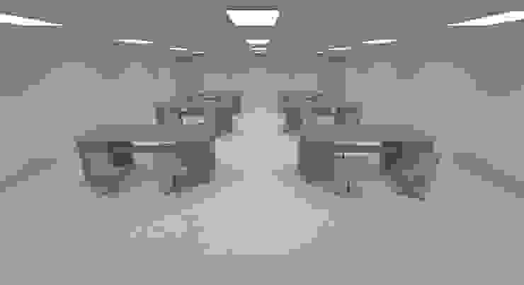 Conceptos Iluminación de Oficinas Corporativas de Profesionales Especialistas Moderno
