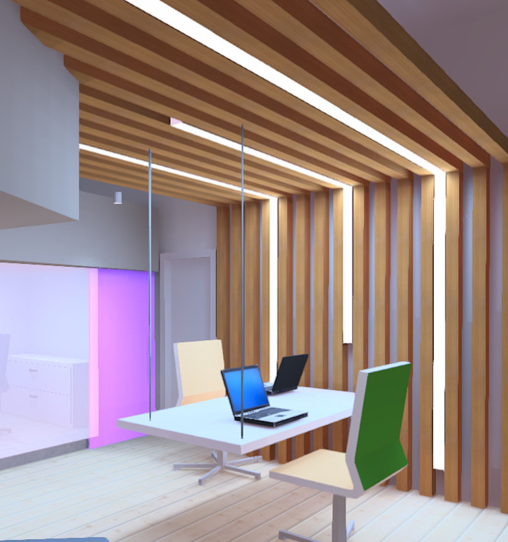 Concepto Oficinas Particulares de Profesionales Especialistas Moderno