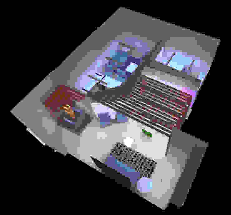 Iluminacion de interiores de Profesionales Especialistas Moderno