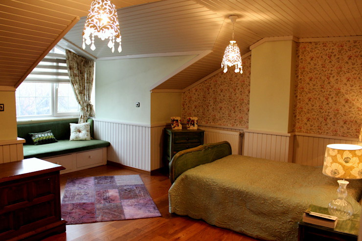 Dormitorios de estilo moderno de Bilgece Tasarım Moderno