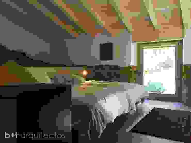Спальня в стиле кантри от b+t arquitectos Кантри
