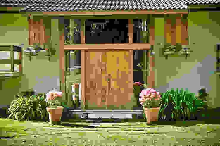 Maisons de style  par Carlos Eduardo de Lacerda Arquitetura e Planejamento , Rural