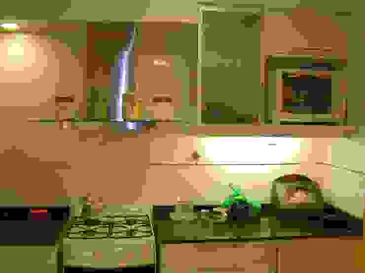Remodelaciòn de Cocina en Departamento Cocinas modernas: Ideas, imágenes y decoración de D&D Arquitectura Moderno
