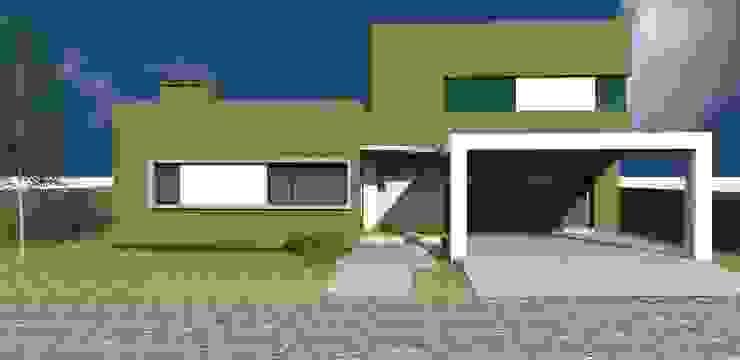 Vivienda Country La Herencia, Los Nogales, Tucumàn. Casas minimalistas de D&D Arquitectura Minimalista