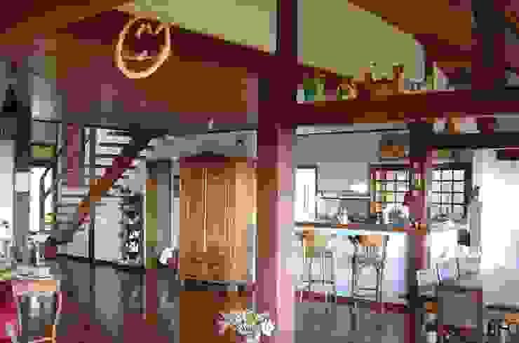 Comedores de estilo rural de Carlos Eduardo de Lacerda Arquitetura e Planejamento Rural