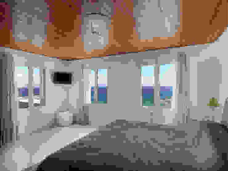 Habitaciones de estilo mediterráneo de Carlos Eduardo de Lacerda Arquitetura e Planejamento Mediterráneo