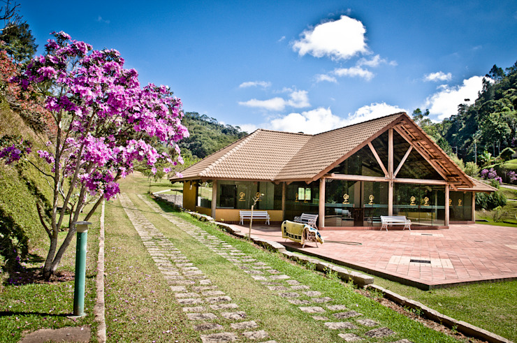 Maisons rurales par Carlos Eduardo de Lacerda Arquitetura e Planejamento Rural