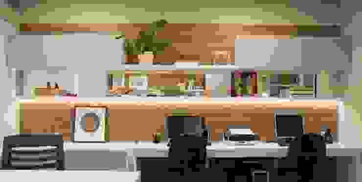 Modern Çalışma Odası Débora Noronha Arquitetura Modern