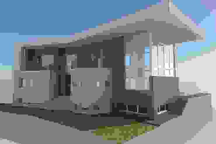 Vivienda moderna. La ficción del 3D se ve superada por la realidad. de DYOV STUDIO Arquitectura, Concepto Passivhaus Mediterraneo 653 77 38 06 Moderno Caliza