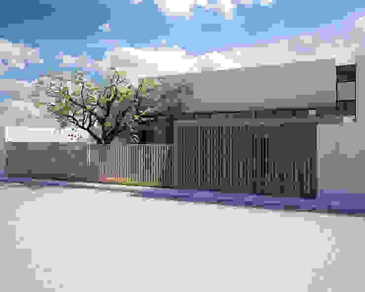 CASA P+A Casas modernas de ANGOLO-grado arquitectónico Moderno Concreto