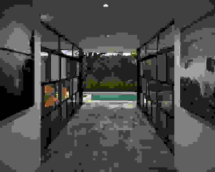 Vestíbulo Pasillos, vestíbulos y escaleras modernos de ANGOLO-grado arquitectónico Moderno Azulejos