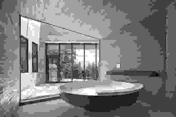 Salle de bain moderne par homify Moderne Béton
