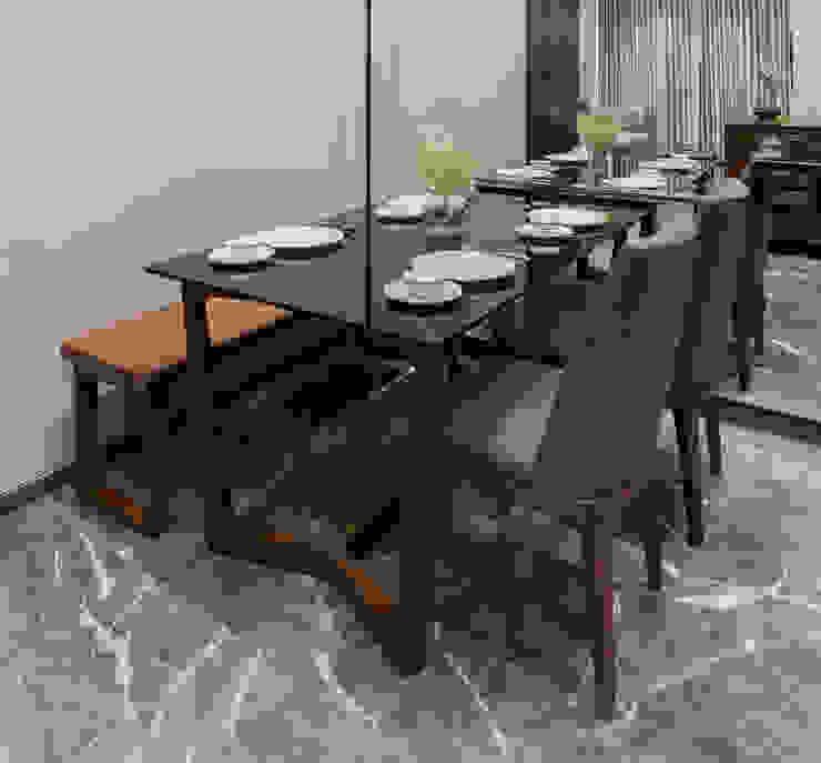 Residential - Marine Drive: modern  by Nitido Interior design,Modern Leather Grey