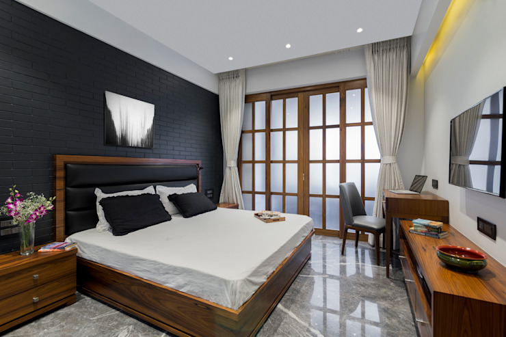 Residential - Marine Drive: modern  by Nitido Interior design,Modern Tiles