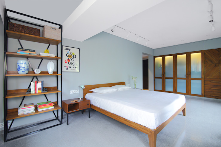 Residential - Napeansea Rd Nitido Interior design BedroomBeds & headboards Stone Grey