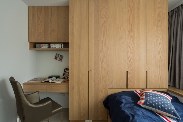 Modern Bedroom by KD Panels Modern Wood Wood effect