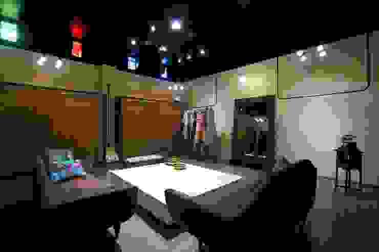 Commercial - Dadar by Nitido Interior design Eclectic Bamboo Green