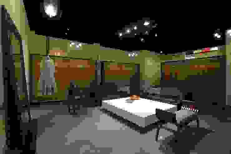 Espacios comerciales de estilo ecléctico de Nitido Interior design Ecléctico Bambú Verde