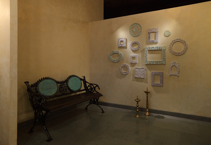 Commercial—Dadar by Nitido Interior design Eclectic Solid Wood Multicolored
