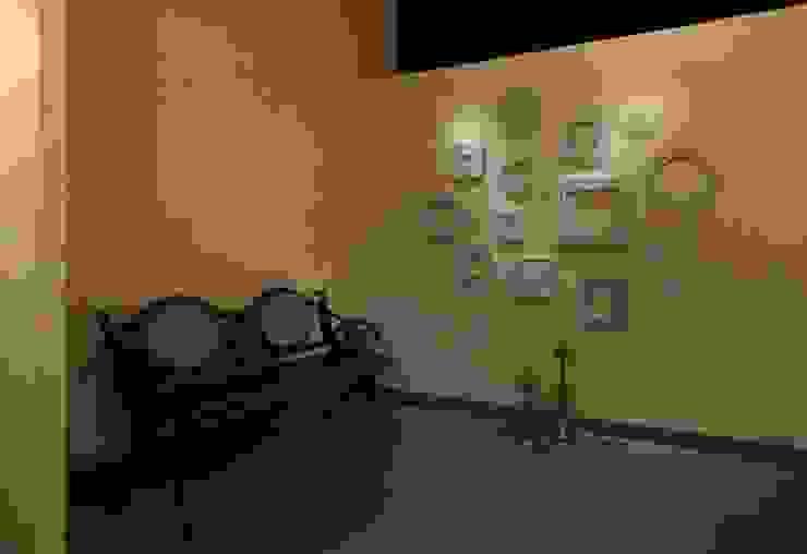 Espacios comerciales de estilo ecléctico de Nitido Interior design Ecléctico Madera maciza Multicolor