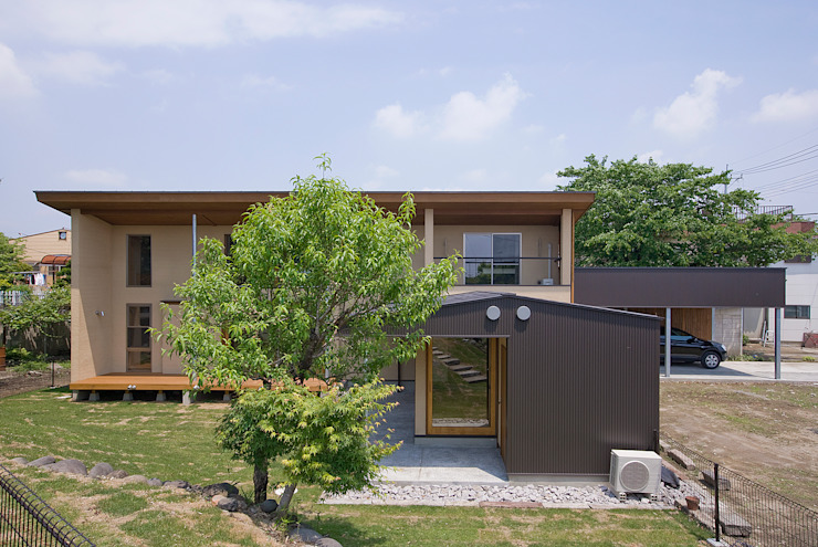 Eclectic style houses by ATELIER N Eclectic