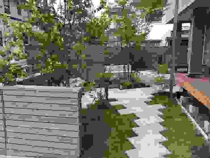 Vườn phong cách hiện đại bởi 造園 武 Hiện đại