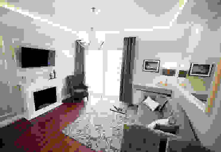 Apartament Rakowicka Klasyczny salon od AgiDesign Klasyczny