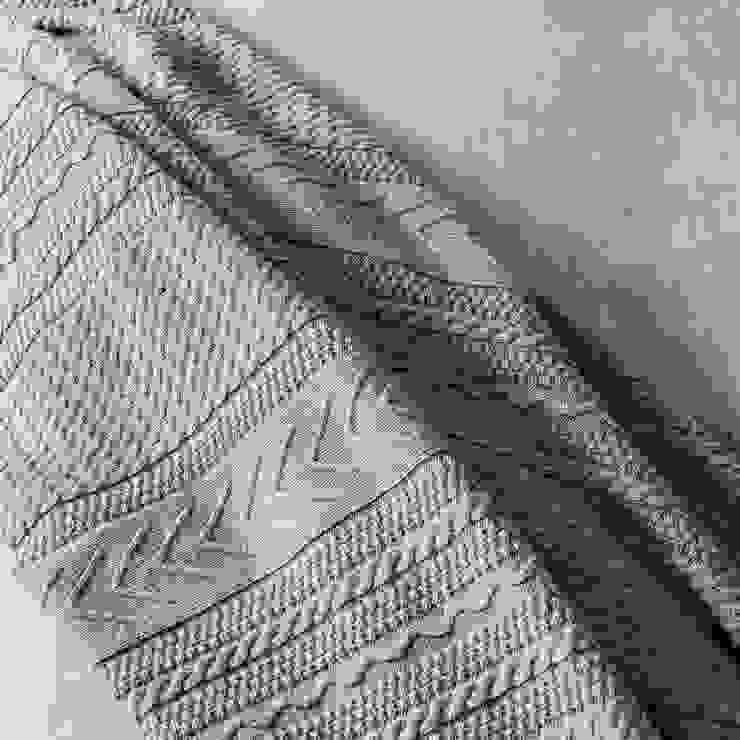 Grey Bay - Roupa de cama 100% algodão Egipto penteado / Manta por Home Concept Moderno