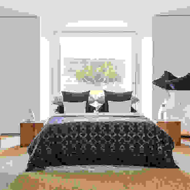 Regatta - Roupa de cama 100% Algodão Egipto Penteado | Almofadas decorativas Home Concept QuartoTêxteis