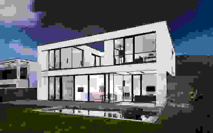 Minimalistische huizen van Skandella Architektur Innenarchitektur Minimalistisch