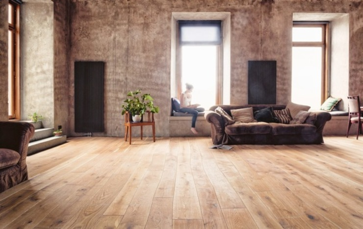 Dinding oleh Rochene Floors, Rustic Kayu Wood effect