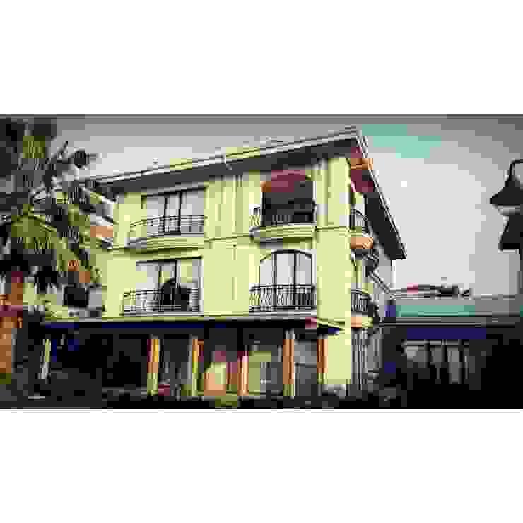 Villa Mare Yılmaz's House Modern Evler DO ART İç Mimarlık Modern Beton
