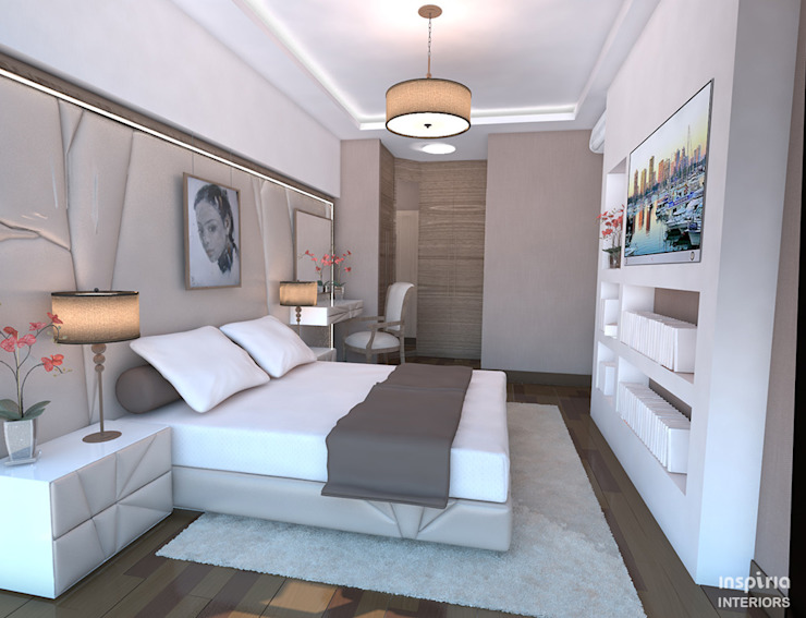 Bedroom Renovation in Singapore Modern style bedroom by Inspiria Interiors Modern