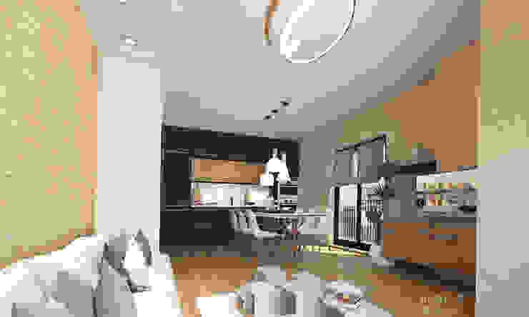 Dapur oleh Inspiria Interiors, Skandinavia