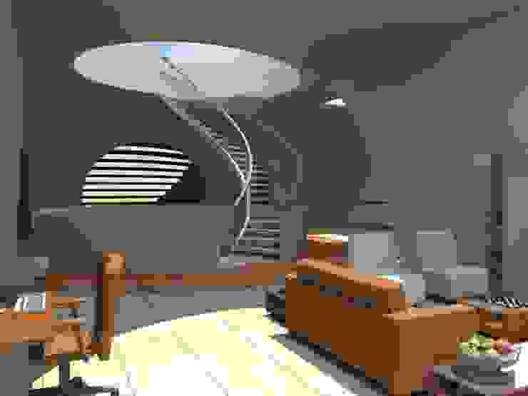 vista de la sala segundo piso de ARCHI DESIGN IBAGUE