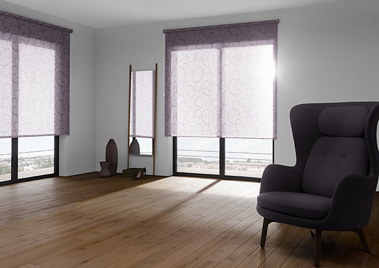 modern  by Creatives Wohnen, Modern Synthetic Brown