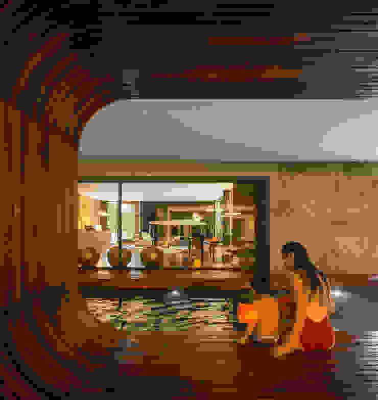 Guimarães House Piscinas minimalistas por es1arq Minimalista