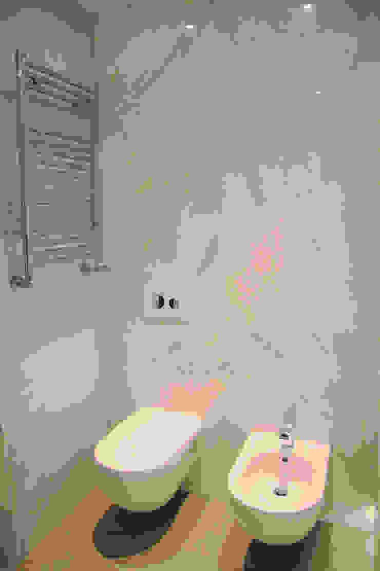 Casa de banho da Suite Casas de banho modernas por GRAU.ZERO Arquitectura Moderno