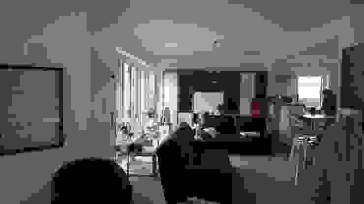 Séjour Salon moderne par Bureau d'Architectes Desmedt Purnelle Moderne