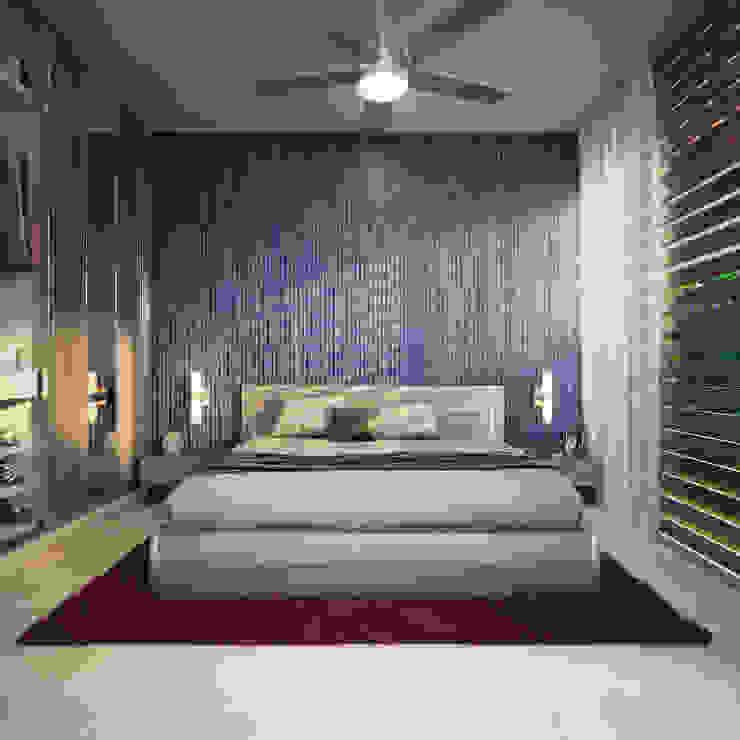 Dormitorio Dormitorios modernos de Lights & Shades Studios Moderno