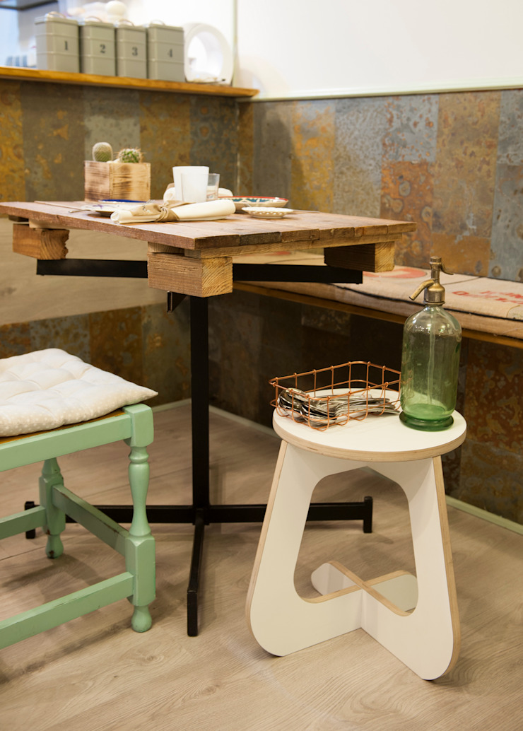 TABUHOME Living roomSide tables & trays Wood White