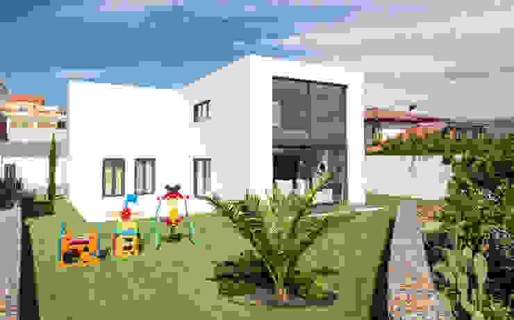 Modern style gardens by MODULAR HOME Modern