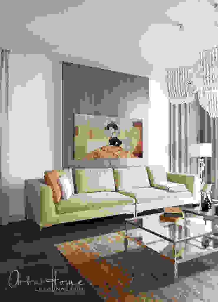 Soggiorno eclettico di Лена Инашвили Art at Home Eclettico