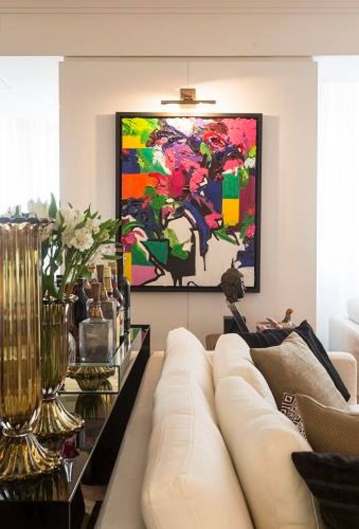 Flavia Guglielmi Arquitetura Living room