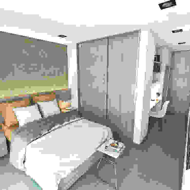 Moderne Schlafzimmer von FILIPPIS/DIP - DISEÑO Y CONSTRUCCION Modern